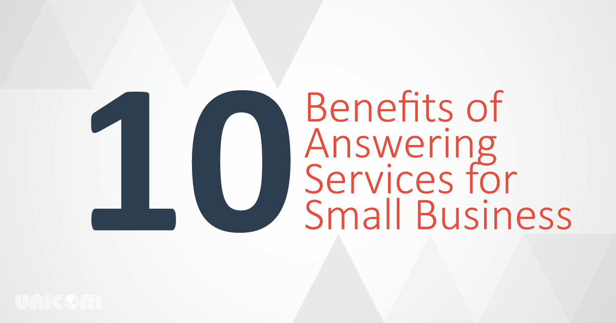 Benefits of Answering Services for Small Business