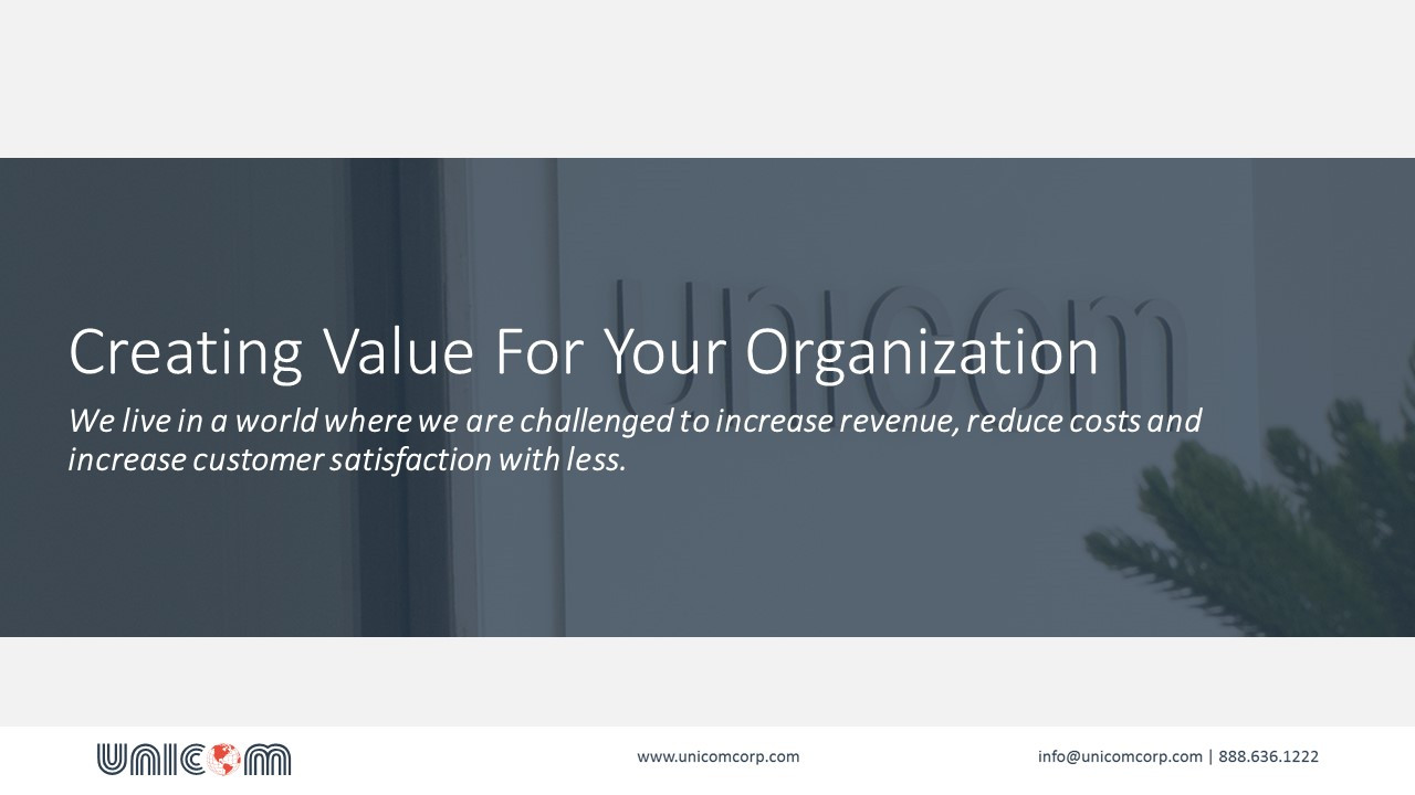 Create Value with a Professional Call Center