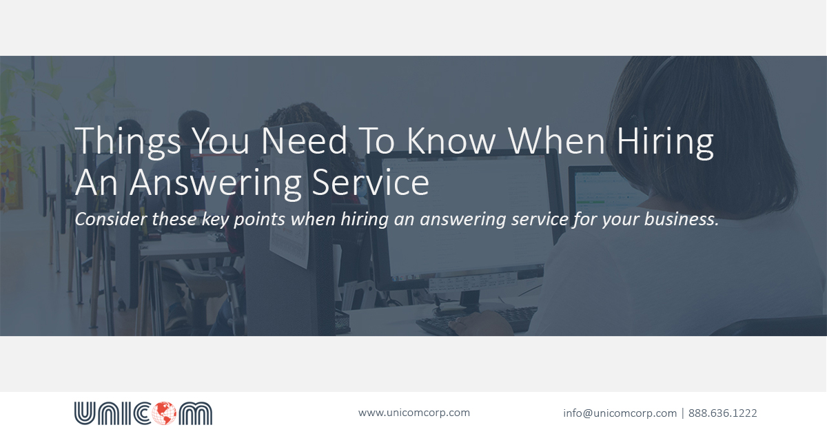 Tips to hire best answering service